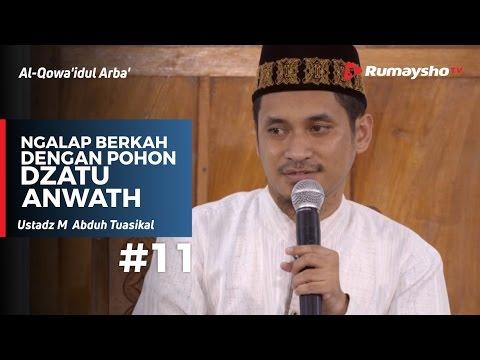 Al-Qowaidul Arba (11) : Ngalap Berkah dengan Pohon Dzatu Anwath - Ustadz M Abduh Tuasikal