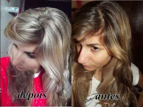 Como retocar luzes SOZINHA?-How to retouch highlights hair