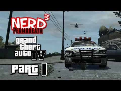 Nerd ³ Permadeath - GTA IV - Part 1