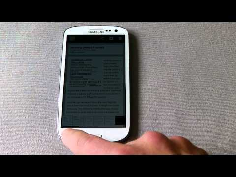 How to screenshot on Samsung galaxy s3.MP4