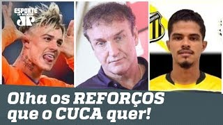 Bons? OLHA os REFORÇOS que CUCA quer para o SÃO PAULO!
