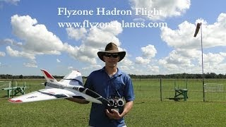 Flyzone Hadron Maiden Flight