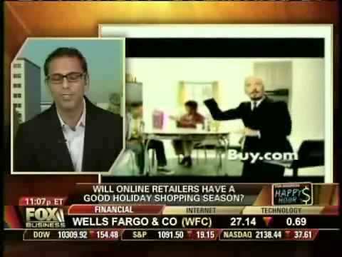 Neel Grover (Buy.com CEO) on Fox Business News on Black Friday 2009