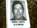 barrie j davies is a fanzine by tom goddard and brian watkins
