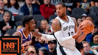 San Antonio Spurs vs Phoenix Suns Full Game Highlights | 12.11.2018, NBA Season