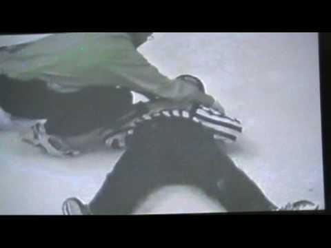 Ken Tasker almost kills ref, brawls