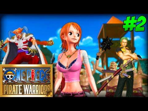 One Piece Pirate Warriors #2 - Buggy o Palhaço !!!