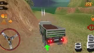 Bé lái xe tải vận chuyển offroad#1_ Tài xế xe jeep 2019