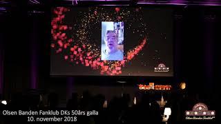 Morten Grunwalds videohilsen til de mange Olsen Banden fans 10/11-18
