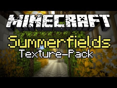 Minecraft: Texture Pack Spotlight #6 - SummerFields (MC Gameplay/Commentary)