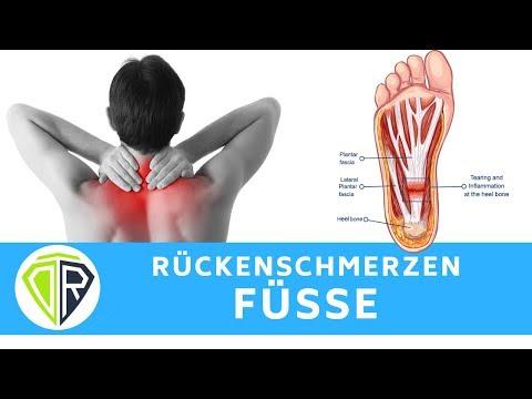 Rückenschmerzen? Deine Füße sind das Problem