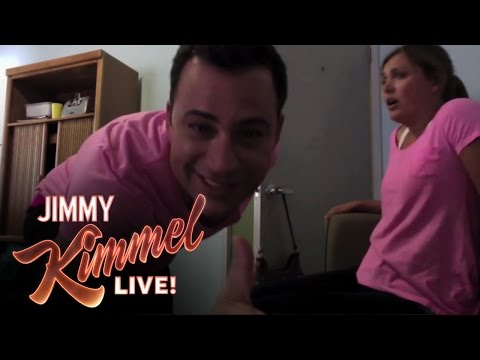 Jimmy Kimmel Reveals worst Twerk Fail Ever - Girl Catches Fire Prank video