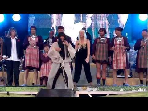 DiggilooÄlmhult 2012-08-25 med Babushki och Loreen...