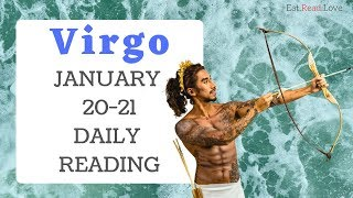 "VIRGO DAILY ""THE BOOM BOOM ROOM"" JAN 20-21 TAROT READING"