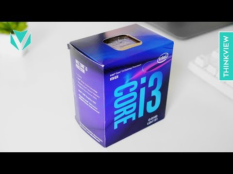 CPU 3.000.000đ chiến GAME KHỦNG - Intel Core i3 8100 | ThinkView