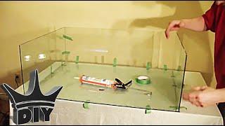 HOW TO: Build A Glass Aquarium TUTORIAL