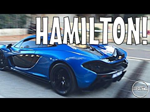Lewis Hamilton's BRAND NEW McLaren P1 Delivery!!!
