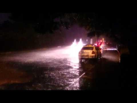 Flooding in Dubrovnik