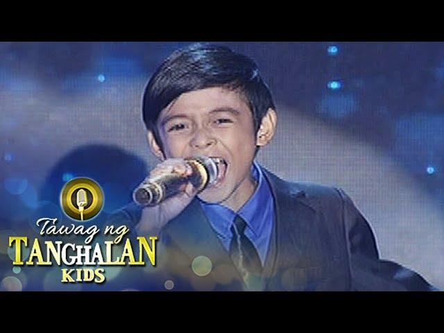 Tawag ng Tanghalan Kids: Keifer Sanchez   Shine  (Grand Finals)