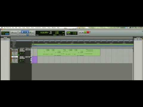 Pro Tools 8 + Reason 4.0 [tutorial]