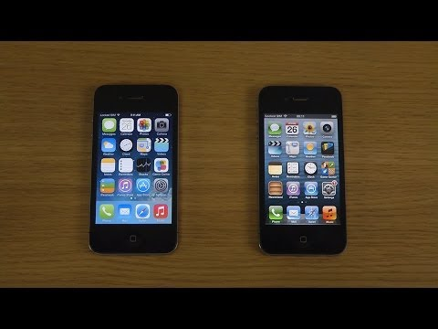 iPhone 4 iOS 7.0.4 Jailbroken vs. iPhone 4 iOS 6.1 - Which Is Faster?