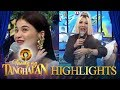 Tawag ng Tanghalan: Anne and Vice show off their gold accessories