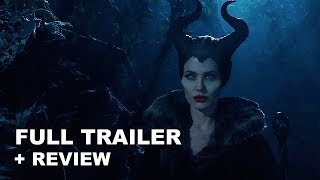 Maleficent 2014 Official Trailer + Trailer Review : Angelina Jolie - HD PLUS