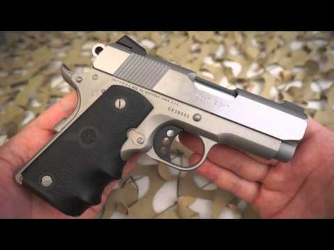 Colt 1911 Lightweight 45ACP Defender 1911 Pistol Overview - Texas Gun Blog