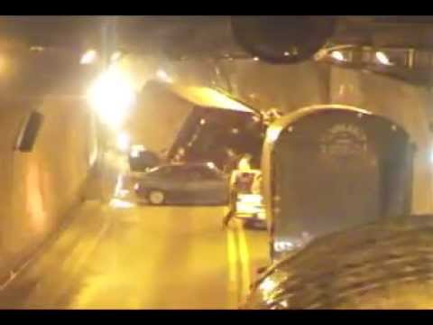accidente en carretera colombiana Tunel Villavicencio