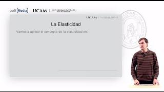 Microeconomía I - La elasticidad de la oferta y de la demanda (1) - Alfonso Rosa García