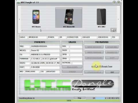 HTCDongle.com - HTC Desire HD Repair Imei