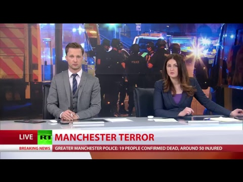 Terrorist attack at Manchester Arena, 19 killed & 50+ injured: RT's special coverage (STREAMED LIVE)