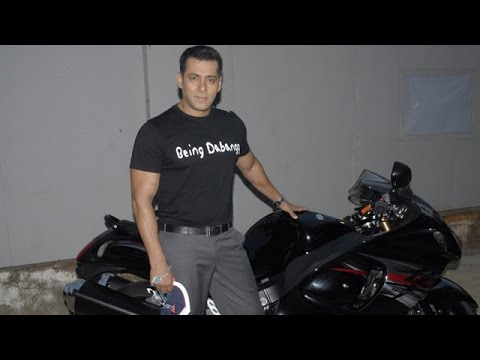 Salman Khan's Kick Movie To Feature Suzuki Motorcycles video