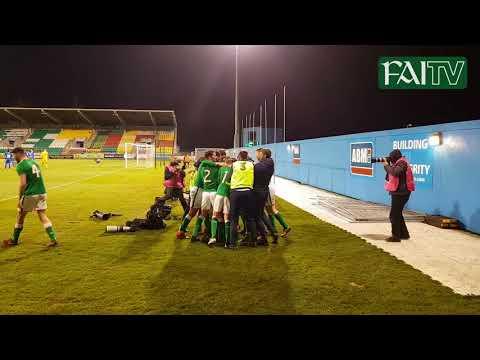 FAN FOOTAGE: #IRLU21 Shaun Donnellan GOAL!