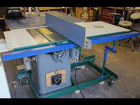 How To Make Biesemeyer Style Guide Rails Table Saw Guide