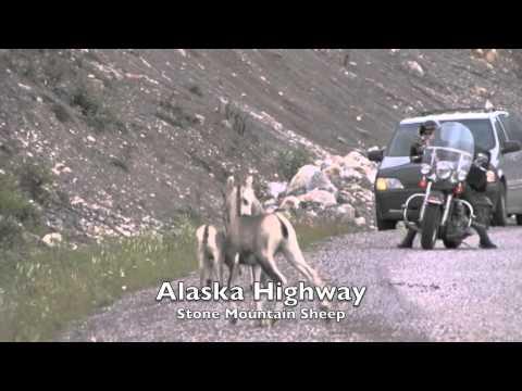 Alaska Highway starts at Dawson Creek British Columbia Canada situated in ...