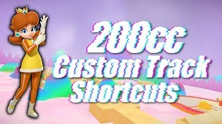 Mario Kart Wii - Ultimate 200cc Custom Track Shortcuts Compilation