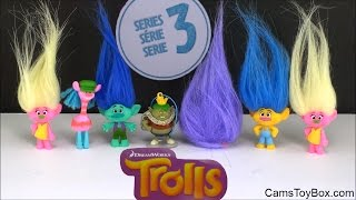 Dreamworks Trolls Blind Bags Series 3 Prince Gristle Branch Surprise Opening Toy Review Kids Fun