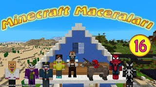 Örümcek Çocuk Minecraft'ta Tırıvıdankus'un Peşinde Minecraft Maceraları 16. Bölüm