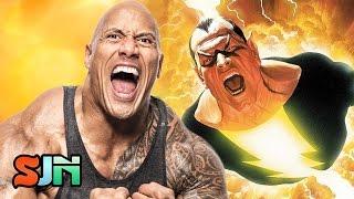 The Rock Meets With DC: Shazam vs. Black Adam