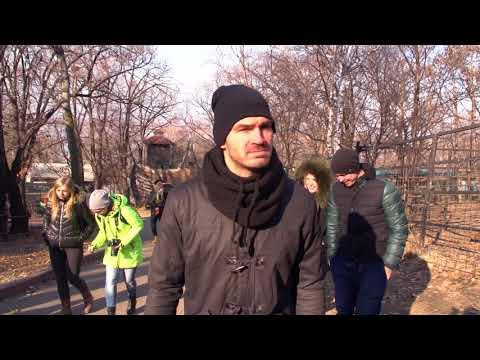 Хоккеисты «Амура» посетили зоосад «Приамурский»