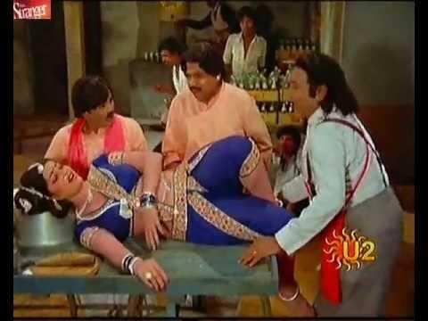 Jayamalini dance in hot blue saree