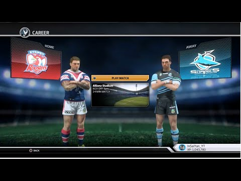 Rugby League Live 3 - Roosters Career (Round 5)