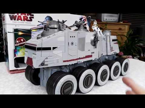 Star Wars The Clone Wars Clone Turbo Tank Review!
