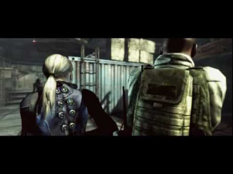 Resident Evil 5 - Desperate Escape cutscenes