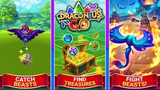 IS THIS BETTER THAN POKEMON GO? NEW PVP & AR GAME - DRACONIUS GO!