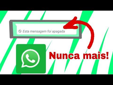 Como ler as mensagens apagadas no whatsapp (nova atualização).