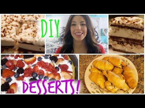 Quick & Easy DIY Desserts!