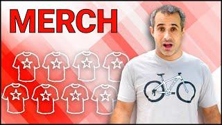 Merchandise   Making Money Beyond Ads ft. Seth's Bike Hacks