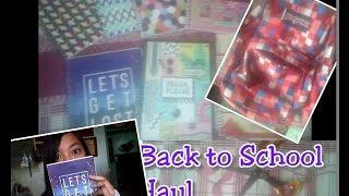 Back to school HAUL | Anime notebooks | Cutie Tiffany